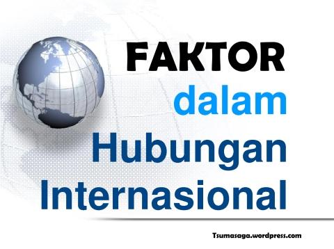 Faktor Internasional