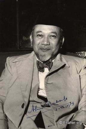 1951 - Ahmad Subarjo