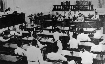 mengajukan lima rancangan dasar negara Indonesia Merdeka diantaranya